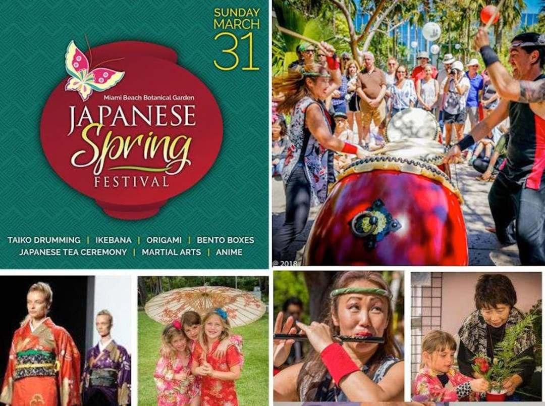 Festival japonés de primavera