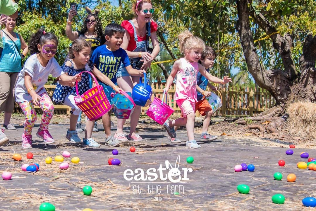 Pascua en la granja