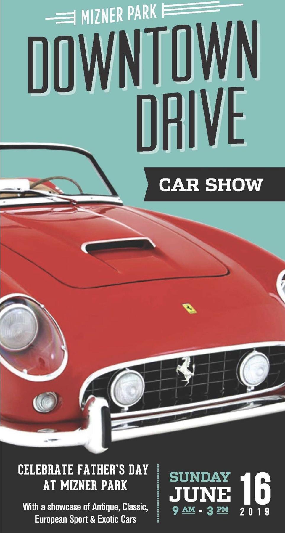 Car Show para celebrar con papá - Mizner Park