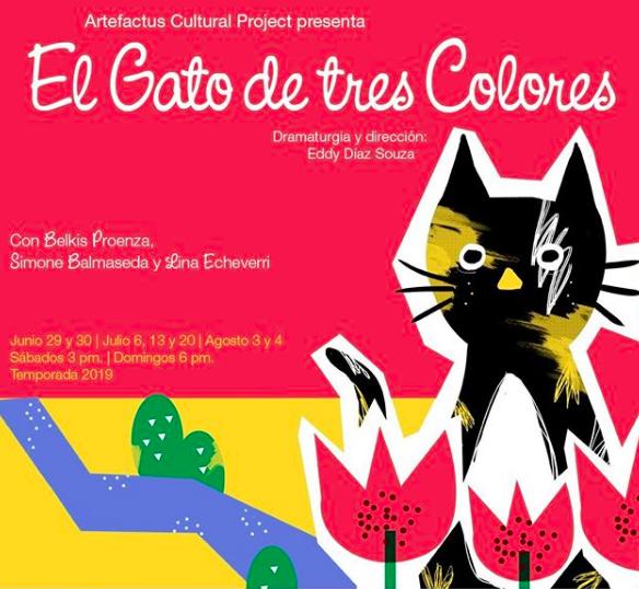 El gato de tres colores