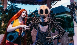 "Jack Skellington and Sally from Tim Burton's ""The Nightmare Before Christmas"" are two of the many characters guests can meet at Magic Kingdom Park during Mickey's Not-So-Scary Halloween Party. The specially ticketed evening also includes trick-or-treating, the Happy HalloWishes fireworks display and more. Mickey's Not-So-Scary Halloween Party takes place select nights Aug. 17- Oct. 31, 2018, at Walt Disney World Resort in Lake Buena Vista, Fla. (Steven Diaz, photographer)"